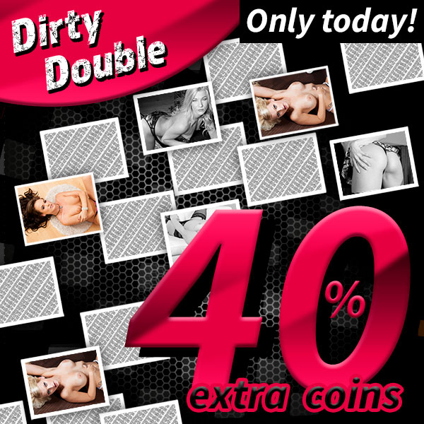 Only today: Win 40% extra coins